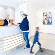 Kieferorthopädie in Essen-Rüttenscheid: Empfang